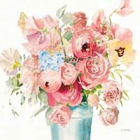 Boho Bouquet  VII Framed Print
