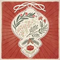 Winter Blooms VI Framed Print