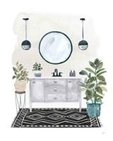 Lulus Powder Room II Fine Art Print