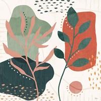 Abstract Blossom V Framed Print