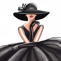 Glam Gown Fine Art Print