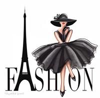 Paris Fashion Fine Art Print