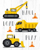 Haul, Load, Play Fine Art Print
