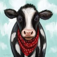 Cow Boy Framed Print