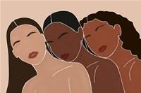 Three Women Fine Art Print