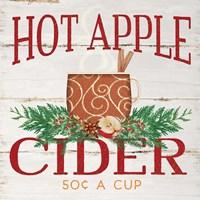 Hot Apple Cider Framed Print
