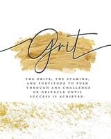 Grit Framed Print
