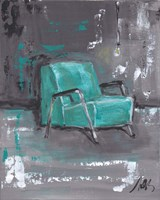 Green Chair Fine Art Print