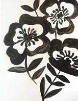 Black Watercolor Fine Art Print