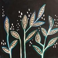 Leaves on Black Fine Art Print