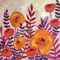 Purple Leaves Fine Art Print