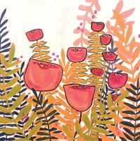 Tulips on White Fine Art Print