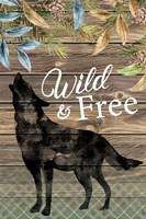 Wild Wolf Framed Print