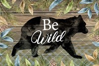 Wild Bear Framed Print