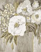 Golden Age Floral II Framed Print
