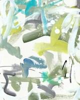Green Blue II Framed Print