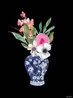Blue Vase I Framed Print