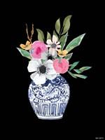 Blue Vase III Framed Print
