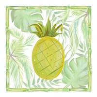 Tropical Pineapple I Framed Print
