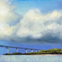 Approaching The Bridge Fine Art Print