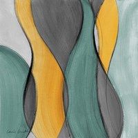 Coalescence in Gray I Framed Print