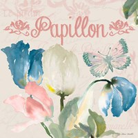 French Tulips II Framed Print