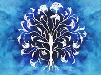 Coral Blues I Framed Print
