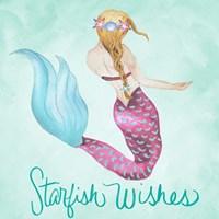 Starfish Wishes Framed Print