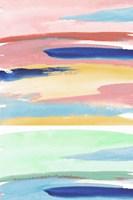 Rainbow Explosion I Framed Print