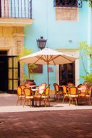 Spanish Cafe Fine Art Print