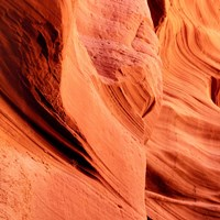 Petrified Sand Mountain I Framed Print