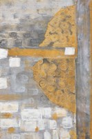 Golden Azteca I Framed Print