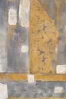 Golden Azteca II Framed Print