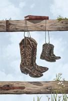 Family Boots Fine Art Print