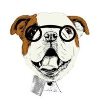 Studious Pup Fine Art Print