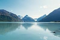 Pristine Scenic Alaska Framed Print