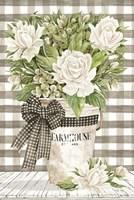 Farmhouse Roses Fine Art Print