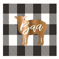 Buffalo Baa Framed Print