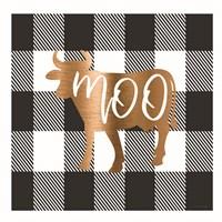 Buffalo Moo Framed Print