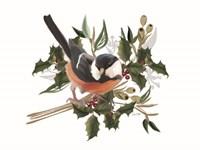 Christmas Songbird I Framed Print