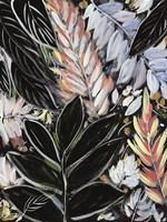 Dark Palms I Framed Print