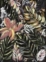 Dark Palms II Framed Print