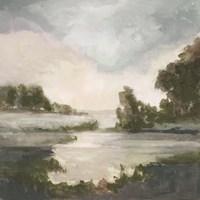 Pastel Countryside I Framed Print