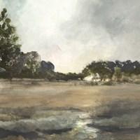 Pastel Countryside II Framed Print