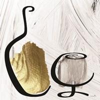 Painted Wine I Framed Print