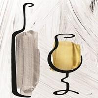 Painted Wine II Framed Print