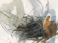 Orbital Burst I Framed Print
