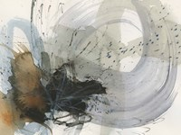 Orbital Burst II Framed Print