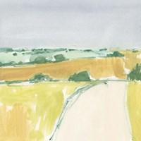Country Road Sketch I Framed Print