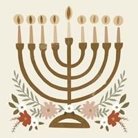 Natural Hanukkah II Fine Art Print